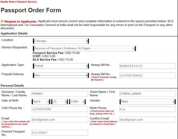 Us Passport Online Application Form Forum